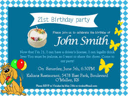birthday invitation words 21st birthday invitations 365greetings