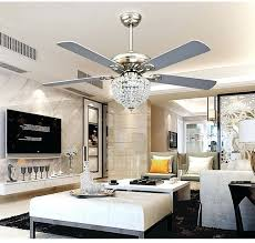 dining room chandelier astounding fan light ceiling crystal kit