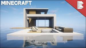 minecraft how to build modern floating house part 1 youtube