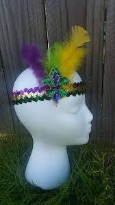 mardi gras headbands fleur de lis mardi gras headband zoomzee