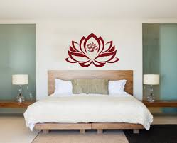 Free Interior Design For Home Decor Aliexpress Com Buy Gold Flower Lotus Mural Om Sign Wall Sticker