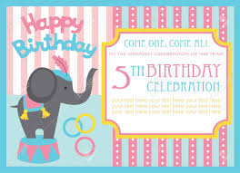 many stock birthday party invitation card vector creation kid birthday invitation card design vector illustration royalty