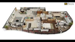 3d Plan 3d Bungalows Floor Plan Video Dailymotion