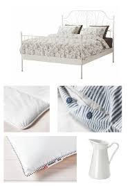 Leirvik Bed Frame White Luröy Leirvik Bed Frame At Home And Interior Design Ideas