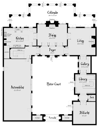 floor plans to build a modern castle home design gallery image