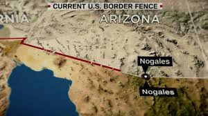 Nogales Mexico Map by The Changing Mexicous Border Worlds Revealed Geography 16 Climate