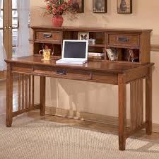 ashley furniture writing desk ashley furniture cross island mission large leg desk and low hutch