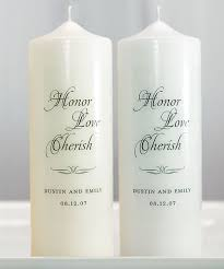 personalized candle personalized candles wedding candles unity candle sets