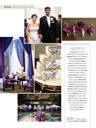 magazine wedding programs and eddie s club continental wedding in the knot magazine