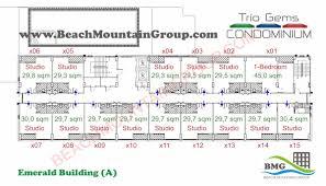 30 Sqm Trio Gems Condominium Pattaya Thailand Official Website