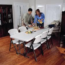 Lifetime 6ft Folding Table Lifetime 6 Ft Rectangle Commercial Adjustable Height Folding