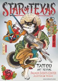 15th anniversary star of texas tattoo art revival in austin at