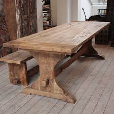 Oversized Dining Room Tables Best 25 Rustic Dining Tables Ideas On Pinterest Rustic Dining