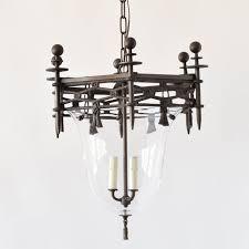 antique bronze frame w artist blown glass the big chandelier