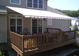 Electric Awning For House Retractable Deck U0026 Patio Awnings Garage Door Service Sales And