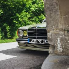 lowered mercedes w123 images tagged with benz barn on instagram