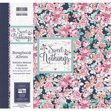 Scrapbook Albums 12x12 First Edition 12x12 Sweet Nothings Scrapbook Album Fealb045 By