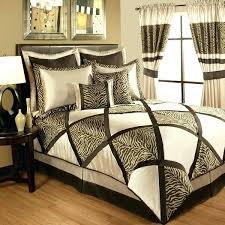 Cheetah Print Crib Bedding Animal Print Bedding Zebra Size Animal Print Bedding Sets