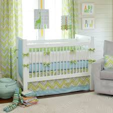 Blue And Yellow Crib Bedding Giveaway Carousel Designs Crib Bedding Set Blue Chevron
