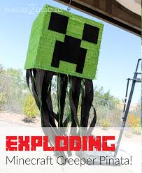 minecraft pinata minecraft creeper pinata tutorial jonesing2create