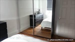 bedroom wonderful ikea pax wardrobe mirror doors surprising full