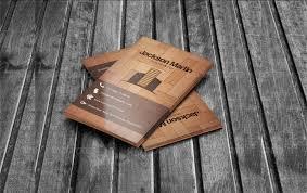 Free Design Business Cards 20 Wooden Business Card Designs Free U0026 Premium Templates