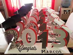 graduation decorations ideas make the party live with graduation table decorations