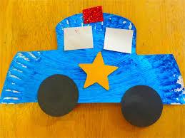 community helper crafts for preschool found this patrol car
