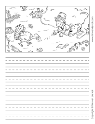 thanksgiving writing paper 4 tim s printables