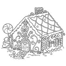 printable gingerbread house colouring page printable gingerbread house free coloring pages on art coloring pages