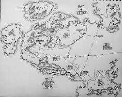Eragon Map Oc I Drew A Map For My First