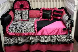 formidable pink zebra print crib bedding marvelous small home