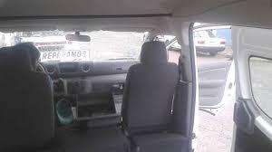 nissan urvan 2013 interior automático y tubo urvan 2015 nv 350 youtube