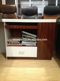 Modern Office Table Design Wood Boss Wooden Office Table Set Modern Office Wood Counter Table