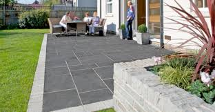 Unilock Brussels Block Patterns by Natural Stone By Unilock Vs Traditionally Sourced Flagstone And