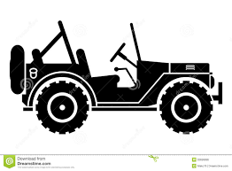 jeep philippines drawing jeep clip art black and white clipartpig