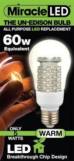 miracle led bug light review un edison all purpose warm white led light bulb 60 watt equivalent