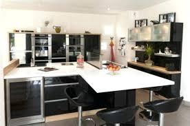 deco cuisine noir et blanc beautiful maison moderne noir et blanc gallery amazing house