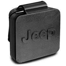 mopar jeep logo mopar 82208453ab wrangler jk trailer hitch cover black with jeep
