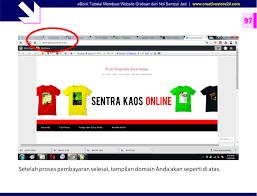 step by step membuat website sendiri ebook tutorial membuat website untuk pemula poster belajar eksklusif