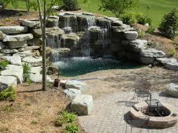 Pinterest Backyard Landscaping by Backyard Waterfall Wonderful Water Features Pinterest