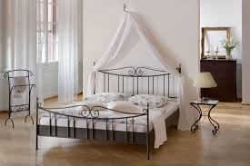 Antique White Metal Bed Frame Bed Vintage Iron Bed Frame Vintage White Metal Bed Frame