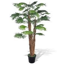 artificial fan palm tree with pot 71