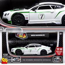 bentley gt3 interior msz vroom tech 1 32 metal toy car bentley continental gt3 lights