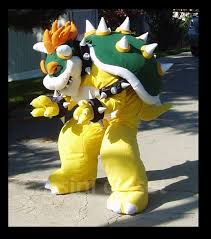 King Koopa Halloween Costume Bowser Costume 9 Steps Pictures
