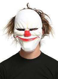 creepy clown mask topic