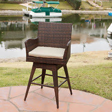 Outdoor Swivel Bar Stool Outdoor Swivel Bar Stools Ebay