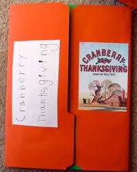 cranberry thanksgiving lapbook 2005
