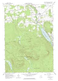 Ohio Elevation Map by New York Topo Maps 7 5 Minute Topographic Maps 1 24 000 Scale