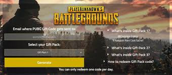 pubg free play battlegrounds on twitter redeem a free pubg gift pack we